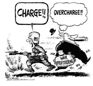 war profiteering bank debt and war