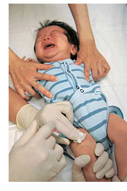 New Study Finds Direct Link Between Vaccines and Infant Mortalityvaccination both legs