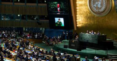 At UN Summit, World Rulers Adopt Agenda for Global Socialism